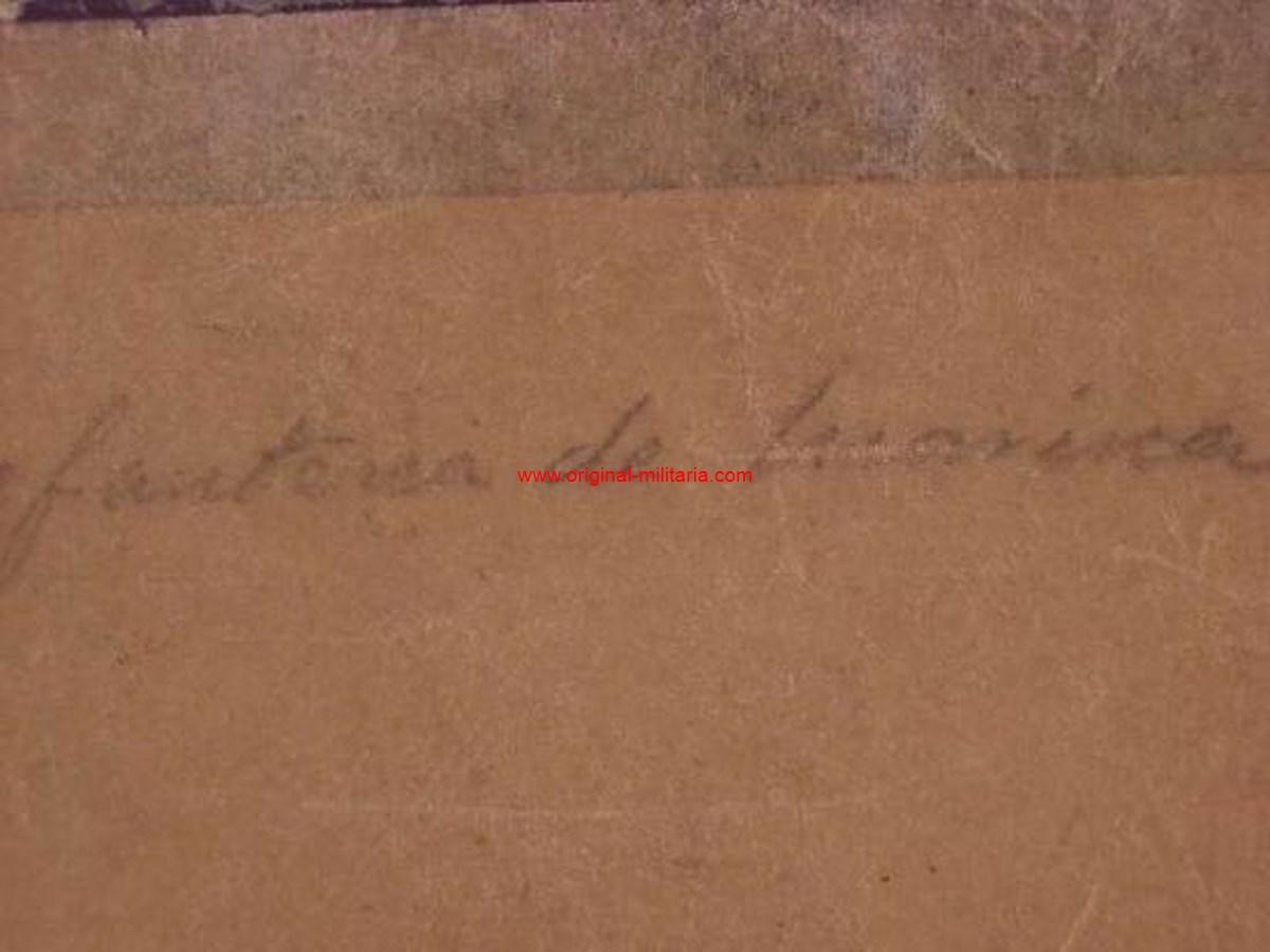 Caja con Charreteras de Teniente Coronel de Infantería de Marina, Alfonso XIII